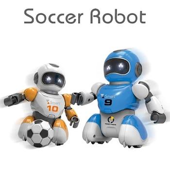 روبوت لعبة كرة القدم ، برمجة ذكية ، محاكاة رياضية مع موسيقى ، روبوت ai ، لغز ، تعليم مبكر ، روبوت rc 1