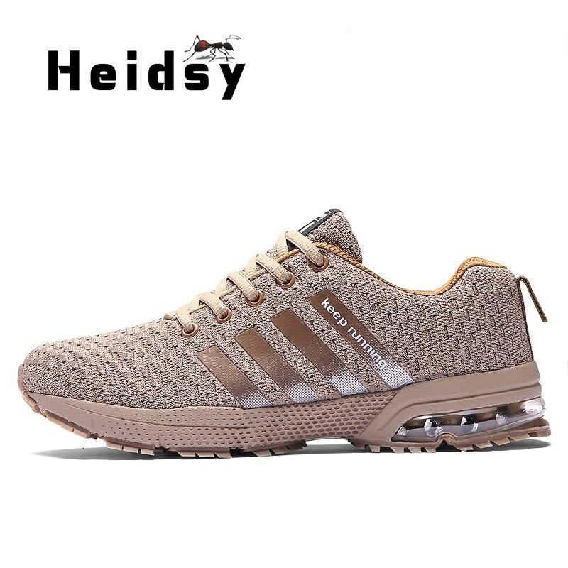 2019 ผู้ชายใหม่รองเท้าผ้าใบ Breathable รองเท้าสบายๆชายสวมใส่รองเท้าแฟชั่นสะท้อนแสงเทปขนาด 39 -44