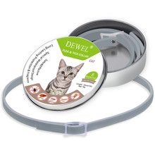 Cat Collar Anti Flea Mosquitoes Ticks Insect Waterproof Herbal Pet 8 Months Protection Removes And Tick