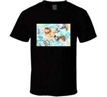 Shigatsu wa kimi não uso anime tv mostrar cartaz legal fã t camisa