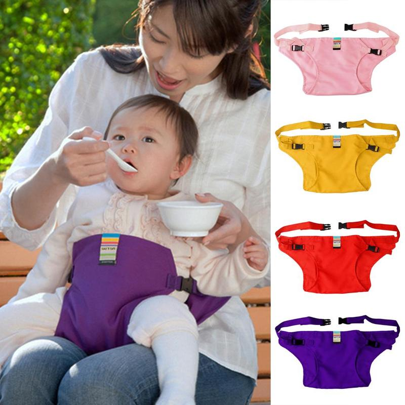 Child Safety Dining Chair Portable Folding Safety Seat For Dining Lunch Feeding Booster Seat Infant Baby Products