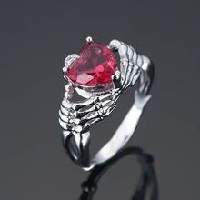 Креативное кольцо в романтическом стиле с двумя руками модное