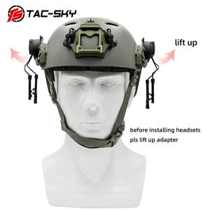 Image 5 - Military tactics Peltor helmet ARC OPS CORE helmet track adapter headphone bracket and fast action core helmet rail adapter   BK