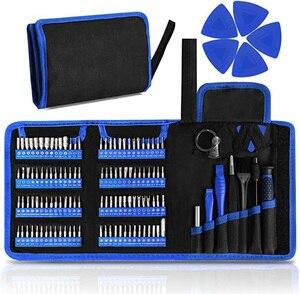 Набор прецизионных отверток 126 в 1 с магнитным драйвером 111 бит, профессиональный набор инструментов для ремонта электроники для ремонта тел...