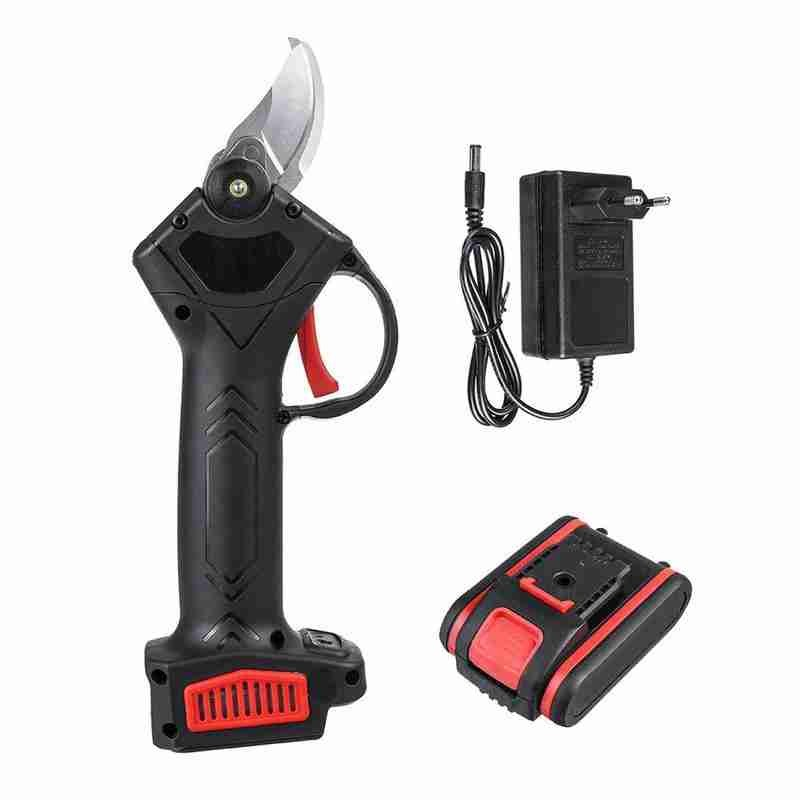 9000mAh Battery 2 Branch Pruning Garden 48V Secateur Electric Ion Lithium Shears Cordless Shears Landscaping Pruning Cutter
