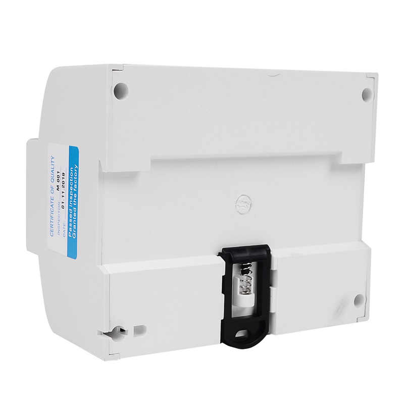 Din Rail électrique triphasé compteur d'énergie RS485 kWh consommation tension électrique wattmètre de courant moniteur Modbus RTU 380V 400V
