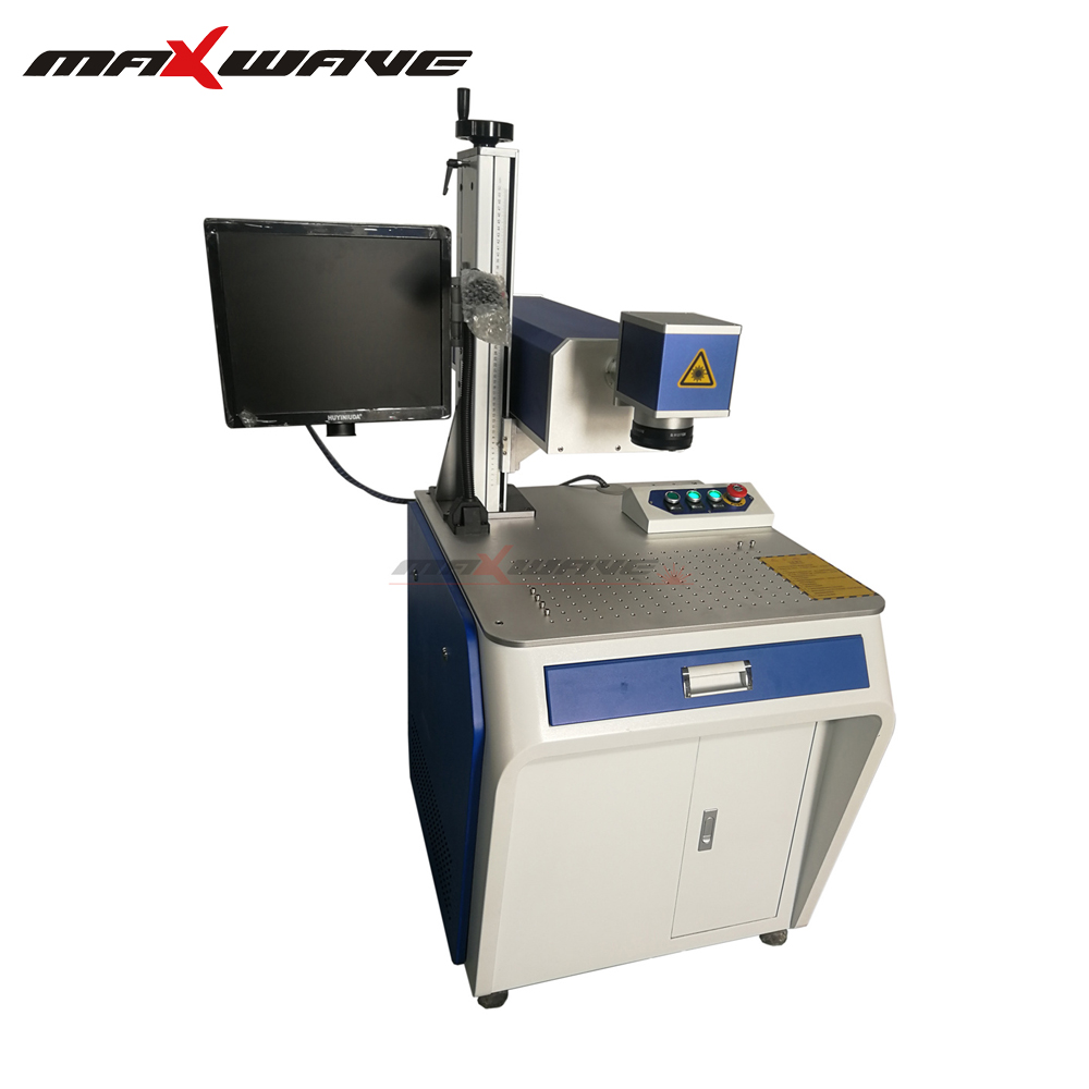 Auto Feeding N95 Face Mask Marking Machine Laser Printing Coding and Marking Machine with UV laser source(China)