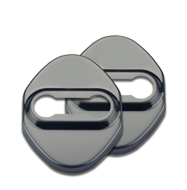 Door Lock Cover Buckle Door Locker Protector Decoration Stickers for Suzuki Jimny 2019+ Car Interior Accessory Stainless Steel
