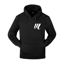New mens sports jacket hooded sweatshirt fitness training suit