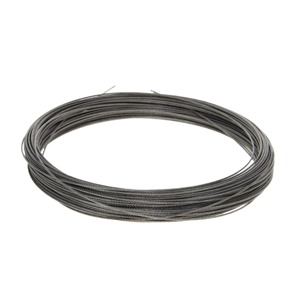 High Quality 1mm/1.2mm Diameter Steel Wire Cable 304-Stainless-Steel Flexible Wire Rope 5~54m Long Soft Lifting Cable 1pcs