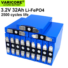 VariCore-pack batterie LiFePO4, 2020 V, 32ah, batterie phosphate 12V, 4s, 24V, 3.2 mAh, pour moteur de moto, modification du Nickel, 32000