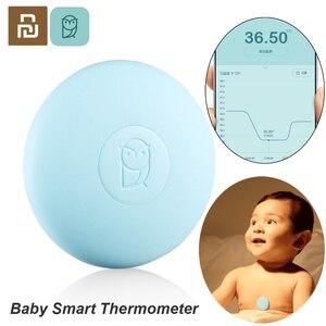 Image 1 - Youpin Miaomiaoce דיגיטלי תינוק חכם מדחום קליני מדחום Accrate מדידה קבוע צג גבוהה טמפ אזעקה