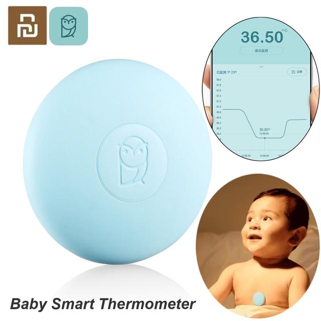 Youpin Miaomiaoce דיגיטלי תינוק חכם מדחום קליני מדחום Accrate מדידה קבוע צג גבוהה טמפ אזעקה