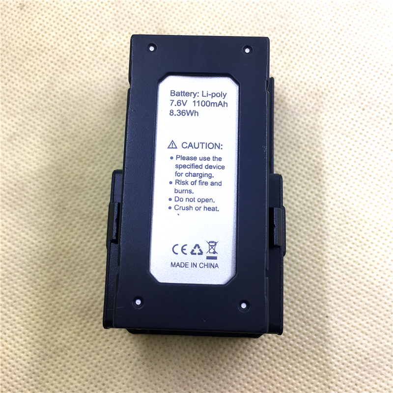 (In Stock) 7.6V 1100mAh 8.6wh Li-po Battery For MJX X103W RC Quadcopter Drone Spare Parts Accessories MJX X103W Battery