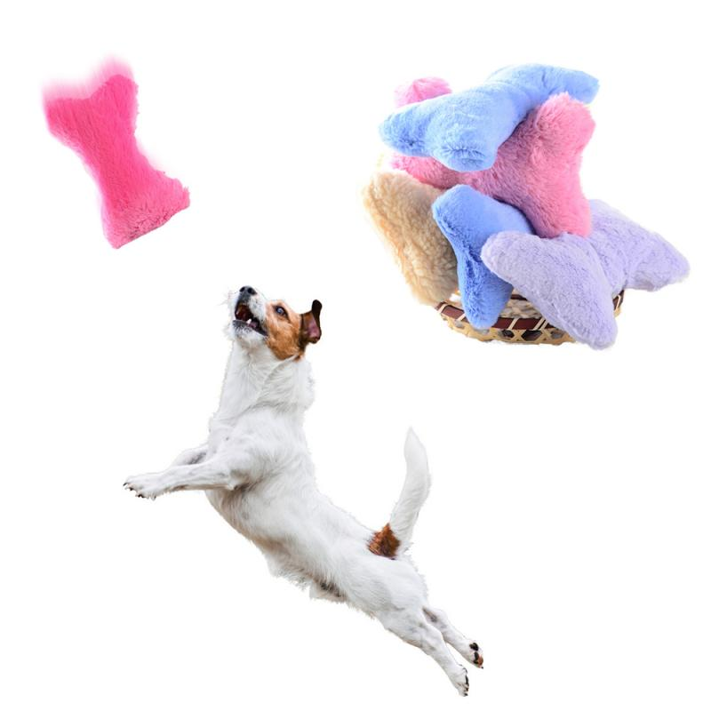 3pcs Cute Plush Bone Pet Sound Squeaker Toys Dog Cat Stuffed Chew Squeaky Toy Puppy Interactive Play Toy Easy Clean Pet Supplies|Toys|   - AliExpress