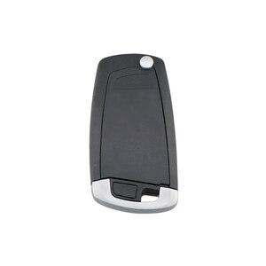 Image 4 - BHKEY 4 כפתורים Flip Floding חכם רכב מפתח עבור BMW 1 3 5 6 סדרת X5 רכב מרחוק מפתח Fob 315mhz 433mhz 868mhz CAS2 מערכת