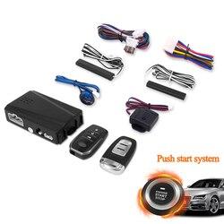 PKE dostęp bezkluczykowy rozruch silnika System alarmowy przycisk zdalny rozrusznik zatrzymaj silnik Auto jeden przycisk Start Stop układ silnika 5