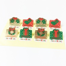 80 Pcs/lot Christmas Day Children Sticker Sealing DIY Gifts Posted Baking Decoration Packaging Label