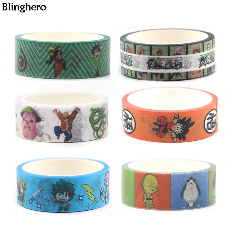 Blinghero Marie Kat 15 Mm X 5 M Washi Tape Leuke Masking Tape Animal Print Stickers Stijlvolle Hand Account Tapes plakband BH0037