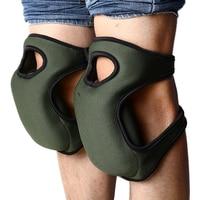 Joelheiras flexível macio espuma joelheiras protetor de joelho construtor almofadas para o esporte trabalho jardinagem suprimentos de segurança no local de trabalho|Joelheiras|   -