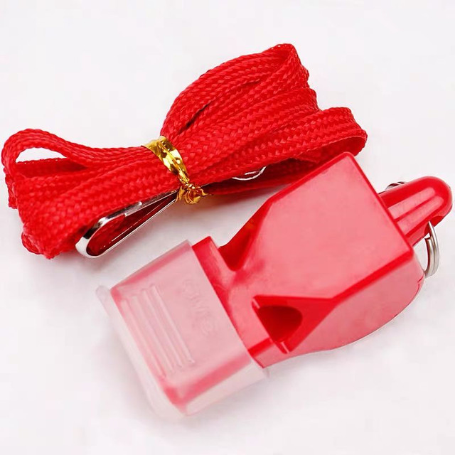 1Pcs Whistle Plastic Fox 40 Soccer Football Basketball Hockey Baseball Sports Referee dedicated Whistle Survival Outdoor Like 3