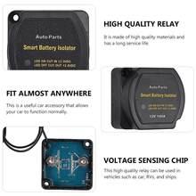 Relé sensível da tensão do jogo 12v 140a do isolador da bateria dupla durável para o carro do rv