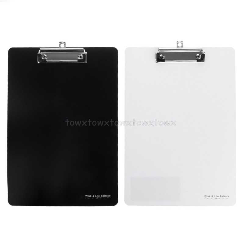 A4 Clipboard Writing Pad File Folders Document Holders School Office Stationery  Jy20 19 Dropship