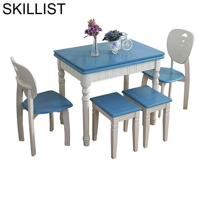 Tisch Juego Comedor Kitchen Meja Makan Set Tafel A Langer Tavolo Da Pranzo Wood Mesa De Jantar Bureau Desk Dining Room Table