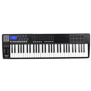 Image 3 - WORLDE PANDA61 taşınabilir _ _ _ _ _ _ _ _ _ _ _ _ _ _ _ _ _ _ _ _ Key USB MIDI klavye denetleyici 8 RGB renkli arkadan aydınlatmalı tetik pedleri piyano midi denetleyici
