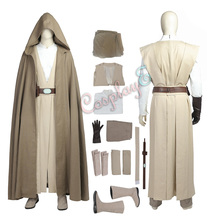 Костюм Люка Скайуокера Звездные войны последний джедай Звездные войны 8 Косплей Мода на Рождество полный комплект