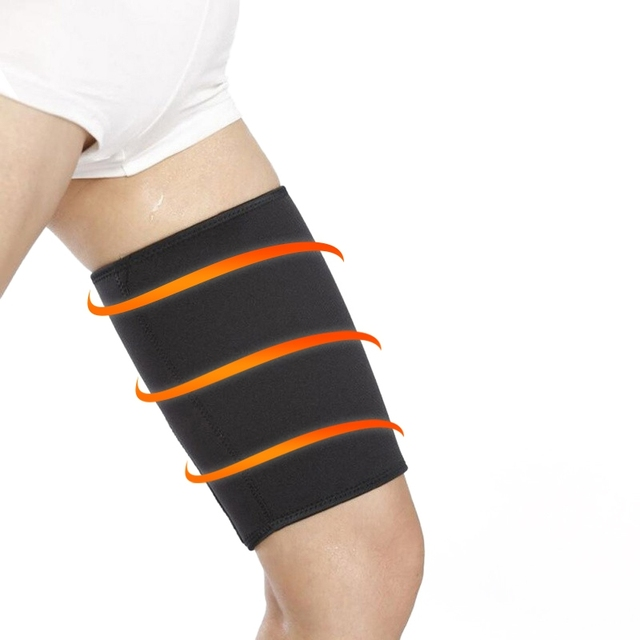 Women Arm Thigh Leg Trimmer Sleeves Compression Belt Body Shaper Sauna Slimmer Sweat Shaping Fat Burning Leg Warmers Corset 3