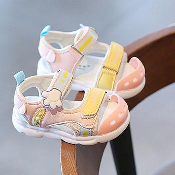 Modne dziewczęce i chłopięce sandały dziecięce miękkie skórzane sandały dziecięce antypoślizgowe buty Unisex buty na plażę dziecięce casualowe sandały tanie i dobre opinie RUBBER W wieku 0-6m 7-12m 13-24m 25-36m 4-6y 7-12y 12 + y 10cm 10 5cm 11cm 11 5cm 12cm 12 5cm 13cm 13 5cm 14cm 14 5cm 15cm