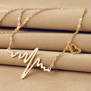 Heartbeat Necklace Lady Love H