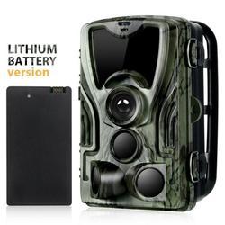 Avcılık kamera HC801A 5000Mah ı ı ı ı ı ı ı ı ı ı ı ı ı ı ı ı ı ı ı ı-pil 1080P 16MP takip kamerası IP65 fotoğraf tuzakları 0.3s tetik zaman vahşi kamera avı izci