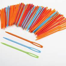 100 Pcs/Set DIY Plastic Needles Tapestry Sewing Wool Yarn Children Crochet Tool Tool