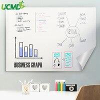 Zelfklevende Wisbare Whiteboard Sticker Schilderen Schrijven Onderwijs White Board Verwisselbare Muurtattoo sticker Voor Kids Baby Kamer