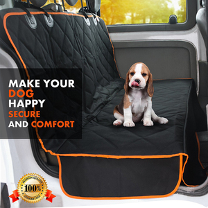 Image 3 - Cawayi מלונה כלב Carrier סוגר עמיד למים לחיות מחמד כלב רכב מושב כיסוי כרית חתולי ערסל מגן חתול תחבורה Perro Autostoel