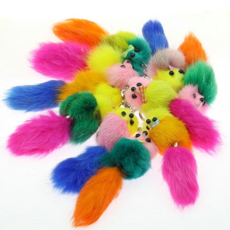 Bag-Accessories Fur-Bag-Hanger Small Mink Key-Buckle Fox-Fur-Ball Fur-Fur Trade Foreign
