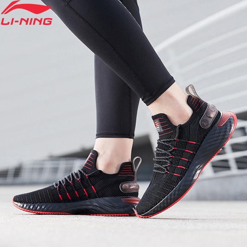 Li-Ning Men LINING CLOUD 6 ELEMENT Cushion Running Shoes Breathable Mono Yarn LiNing Li Ning Sport Shoes Sneakers ARHQ001 XYP962
