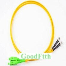 Fibra Ottica Patch Cord Cavo di Ponticello SC/UPC SC/APC SC/APC SC/UPC SM Duplex GoodFtth 1  15 m