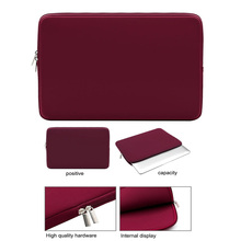 Laptop Sleeve Soft Zipper Pouch 11 12.5 13 14 15 15.6 inch Bag Case Cover for MacBook Air Pro Ultrabook Notebook Tablet free shipping 11 12 13 14 15 15 6 inch laptop sleeve computer case for macbook air pro retina ultrabook tablet protable soft bag