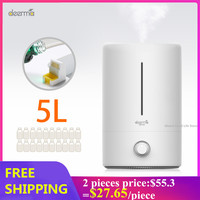 Original Deerma 5L Air Humidifier Mute Ultrasonic Aroma Diffuser Household Mist Maker Fogger Purifying Humidifier Oil