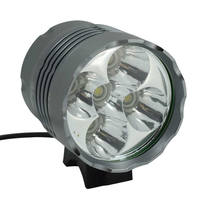 5*T6 LED <font><b>Bicycle</b></font> Front <font><b>Lights</b></font> Super Brightness <font><b>7000</b></font> <font><b>Lumen</b></font> Bike Headlight Waterproof Outdoor Night Riding Cycling <font><b>Light</b></font> Lamp image