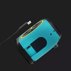 Image 3 - 2020 Youpin Laser Tape Measure 2 in 1 Digital Optical Range Finder with LCD Digit Display Magnetic Hook Rangefinder