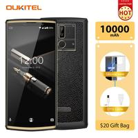 OUKITEL K7 Pro Smartphone 10000mAh Android 9.0 Octa Core 4G RAM 64G ROM 6 Inch Screen 9V/2A Quick Charge 4G LTE Mobile Phone