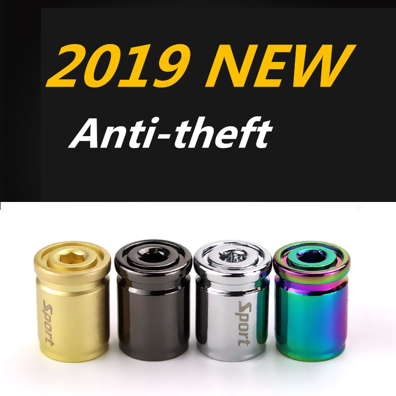 Alloy Sport Anti-theft Car Tire <font><b>Valve</b></font> <font><b>Cap</b></font> For <font><b>BMW</b></font> E39 E60 Mitsubishi Nissan Qashqai X-Trail Citroen C4 C5 Exterior Auto Air <font><b>Caps</b></font> image