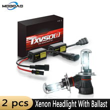 2pcs H7 Xenon Headlight 12V 55W H1 H3 H11 9005 HID Conversion Kit Auto Car Headlight Slim Ballast 3000K 5000K 6000K 8000K 12000K black slim hid xenon ballast h8 12000k headlight kit conversion bulbs 35w [ c467]