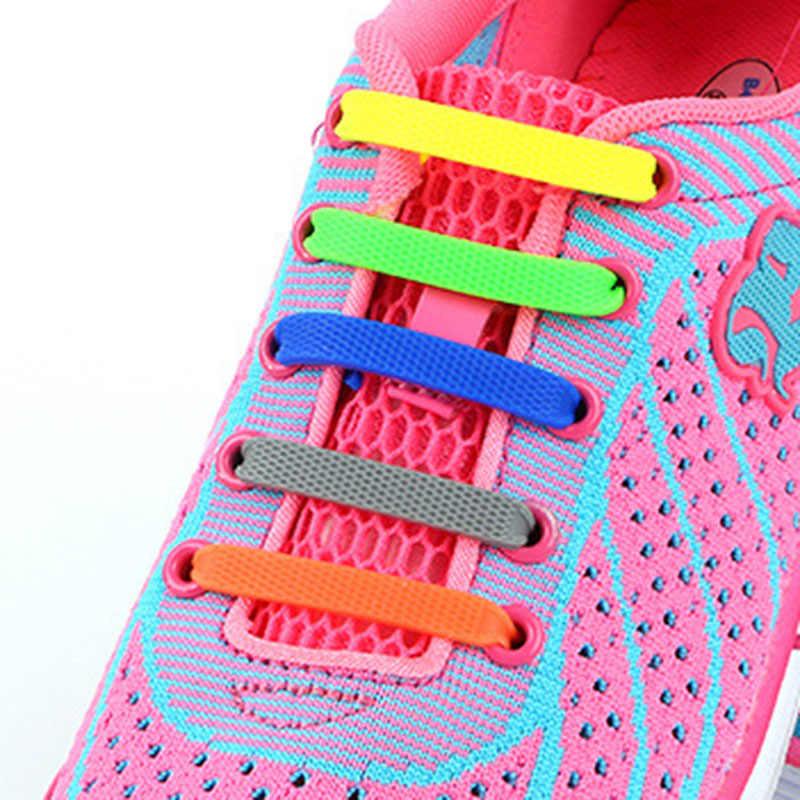 Children Silicone Shoelaces Elastic