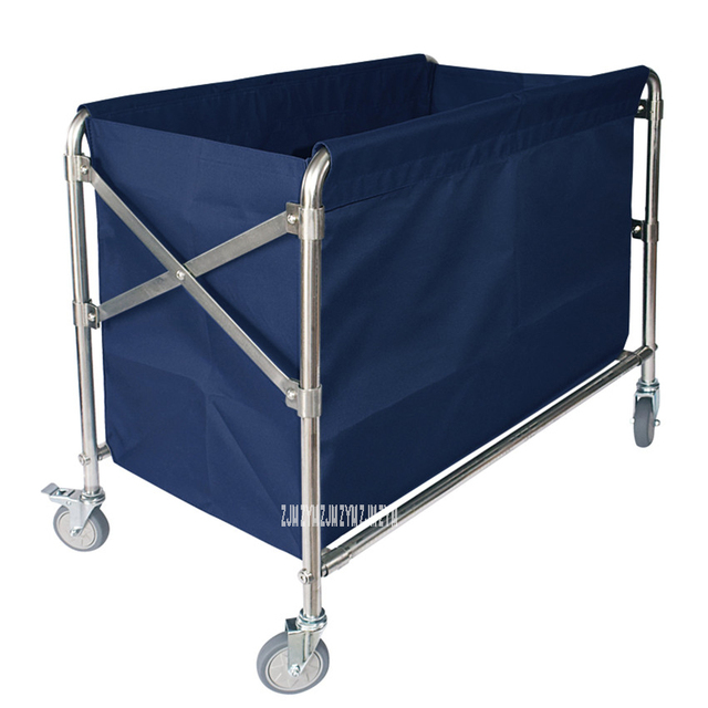 Stainless Steel  Folding Trolley  2