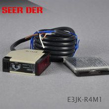 E3JK-DS30M1 ac/dc 5 sensores fotoelétricos do interruptor do fio/reflexão difusa, interruptor infravermelho